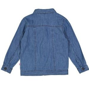 Sophie & Sam Jackets & Coats - Sophie & Sam Blue Floral-Applique Denim Jacket